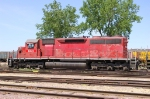 DME 6072 in UP yard